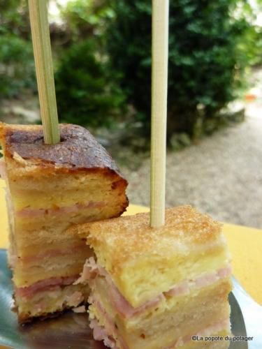 cake croque-monsieur, cake, croque-monsieur, la popote du potager