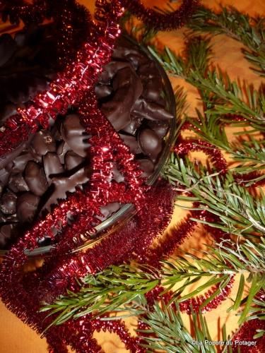 chocolats maison, Christophe Felder, amandes, orangettes