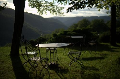 Domaine de Méjanassère, chambres d'hôtes, Aveyron, la popote du potager