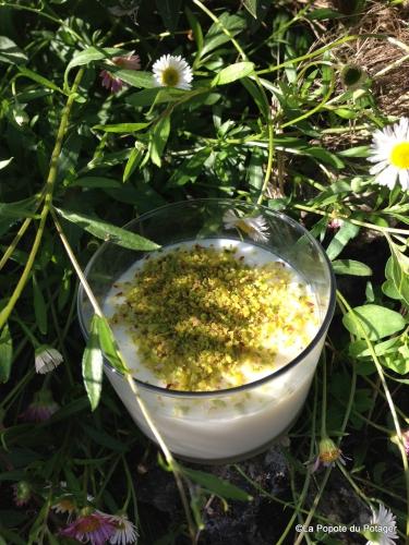 crème, maïzena, lait, eau de fleur d'oranger